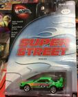 Hotwheels RARE Super Street Series Nissan Skyline 1 of 4 Never Removed Mint NIB
