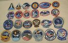 1981 to 1985 SPACE SHUTTLE MISSIONS EMPLOYEE ISSUE 24 PATCHES STS 1 to STS 61B