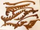 ANTIQUE CARVED WOOD SCROLLS GOTHIC SALVAGE ARCHITECTURAL MOLDING TRIM FURNITURE