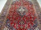 10X7 1940's AUTHENTIC HAND KNOTED 70+YRS ANTIQUE DISTRESSED MASHADD PERSIAN RUG