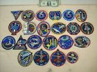 1997 to 2000 SPACE SHUTTLE MISSIONS 21 EMPLOYEE ISSUED PATCHES STS 81 to STS 97