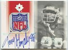 1 1 Tony Gonzalez 2004 UD Ultimate Collection Game-Used NFL Logo Patch Auto 1 1