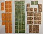 Stamps from Germany Blocks 1921 139 141 142 143 Postage