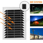 Energy Solar Panels Outdoor Power Supply Battery Charger PET Laminated
