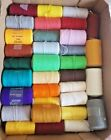 8 Lots Pretty Punch Needle Embroidery Yarn Thread Spools Purr-fect - U Pick Lot