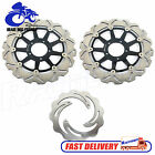 Ducati F+R Brake Rotors 998 Monster S4R 1000 S Testastretta Tricolore 06 07 08