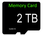 2TB MICRO SD CARD WITH FREE ADAPTER