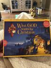 What God Wants for Christmas Interactive Nativity Set and Book for Kids 2006