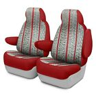 For Toyota Previa 94-97 Saddleman Saddle Blanket 1st Row Wine Custom Seat Covers
