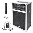 Pyle Pro Outdoor Indoor Wireless Bluetooth Portable PA Stereo Sound System