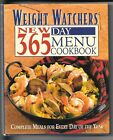WEIGHT WATCHERS NEW 365 DAY MENU HARDCOVER COOKBOOK
