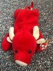beanie baby tabasco rare 1995 style 4002 small damage to tag but overall good co
