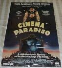 Cinema Paradiso 1988 Original Video Store Movie Poster 265 x 385