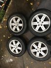 Mitsubishi Pinin 16 Alloy Wheels Set Of 4 With Tyres