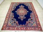7X11 1940's GORGEOUS AUTHENTIC HAND KNOTTED 70+YRS ANTQ WOOL SAROUK PERSIAN RUG