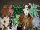 HUGE LOT 74 TY ORIGINAL BEANIE BABIES MIXED LOT RETIRED Some Rare Mix