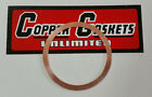 CZ 125 TYPE 476 COPPER HEAD GASKET 56MM X .81MM THICK