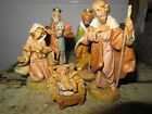 Vintage Fontanini Wise Men Kings Nativity Figurines Depose Italy creche mary