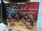 KIRKLAND Signature 10 PIECE PORCELAIN NATIVITY Set Retired Rare 10