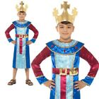 King Melchior Costume Three Wise Men Nativity Christmas Fancy Dress Age 4 12