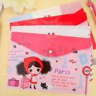 Papers Cute Bags Folder File Pen Bag Organizer Holder Office Stationery Fsp