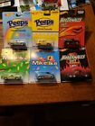 Hot Wheels 2014 Just Born Candy Complete Set of 6