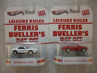 2x Hot Wheels 2013 Retro Entertainment Ferris Buellers Day Off Lot of 2