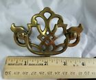 Keeler Chippendale Pierced Brass Bail Batwing Pull Vintage DRAWER PULL - HW5