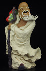 Chinese Pottery  Porcelain Shouxing Longevity Star God Dragon Crutch Peach Statu