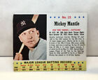 Comprehensive Guide to 1960s Mickey Mantle Cards 94