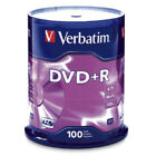 Verbatim DVD+R 4.7GB 16X Branded 100pk Spindle 4.7GB DVD+R 100pc(s)