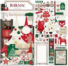 Bo Bunny Christmas Merry and Bright scrapbook card making paper 51 die cuts