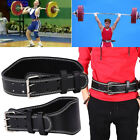 9F5D PVC Weight Lifting Belt Powerlifting Belt Lumbar Protection Gym MEN CE