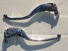 KAWASAKI ZX14 & Concours 14 CHROME CLUTCH & BRAKE LEVERS FREE SHIPPING in USA