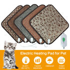 Waterproof Pet Heated Mat Warmer Bed Pad Puppy Dog Cat Bed Electric Heater 45x45