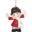 Precious MomentsHave A Magical Holiday Season Dated 2018 Girl Ornament