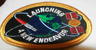 Launching A New Endeavor Patch NASA Earth Satellite Orbit Rare Space Program