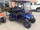 2018 E Z GO GAS GOLF CART NEW WITH NEW custom wheels and 2 inch lift