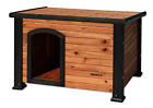 Dog House Pet Outdoor Weather All Durable Shelter Kennel Doghouse Wood