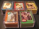1977 Star Wars Cards Topps Complete Set Series 1-5 with Stickers 330 55