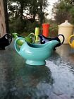 GRAVY BOAT/SAUCEBOAT turquoise blue NEW FIESTA WARE