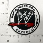 3 WWE World Wrestling Entertainment Logo Embroidered Iron On Patch