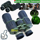 Day Night 60x50 Military Army Zoom Powerful Binoculars Optics Hunting Camping