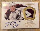 2012-13 PANINI DOMINION HOCKEY TYSON BARRIE AUTO 3 COLOR PATCH RC 14 60 NM AVS