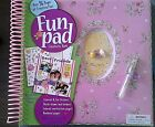 Scrapbook All In One Love Bug Creativity Book 96 Pages Spiral Album Stickers+++