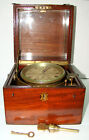19th Century British John Fletcher Ship Chronometer London Serial Number 1534
