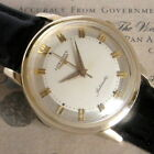 Mens Orignal 1960 Longines 14K SOLID GOLD Automatic 17j Swiss Made Vintage Watch