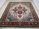 9X12 BRAND NEW BREATHTAKING HAND KNOTTED WOOL PERSIAN HERIZZ DESIGN ORIENTAL RUG