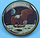 PIN lapel APOLLO 11 XI EAGLE Landing On MOON lunar landing Neil Armstrong NASA