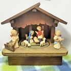 Anri Nativity Stable Music box Musical